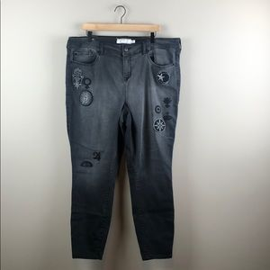 Torrid High-Rise Ultra Skinny Jeans (Size 22R)